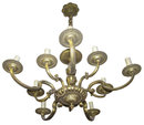 Classical 10-Arm Bronze / Brass Chandelier