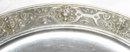 Antique German Classical Repousse 800 Silver Platter