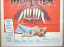 1958 B Movie HOW TO MAKE A MONSTER 1 Sheet Film Poster