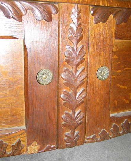 Arts & Crafts Period Oak Sideboard