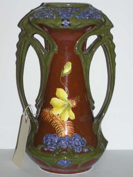 Primavera Turn Teplitz Austrian Art Nouveau Vase