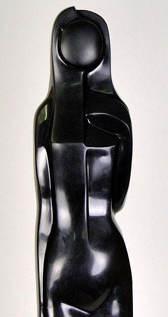 Abstract Cubist Style Female Sculpture by Ricardo