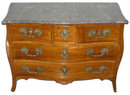 Antique French Louis XV Period Fruitwood Commode