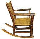 Vintage Hickory Rocker Rocking Chair