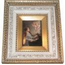 KPM Porcelain Plaque of Saint Cecilia