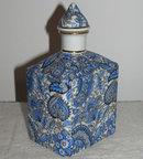 Safavid Persian Style Porcelain Fragrance Bottle