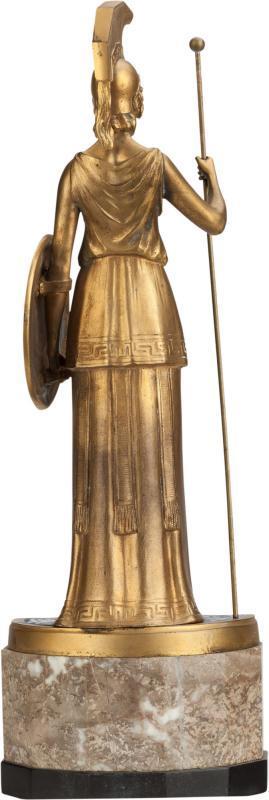 Hans Keck Roman Minerva Greek Athena Bronze Figurine