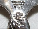 Tiffany Sterling Sunflower Sugar Shells