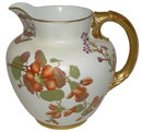 Royal Worcester Porcelain Pitcher Ewer