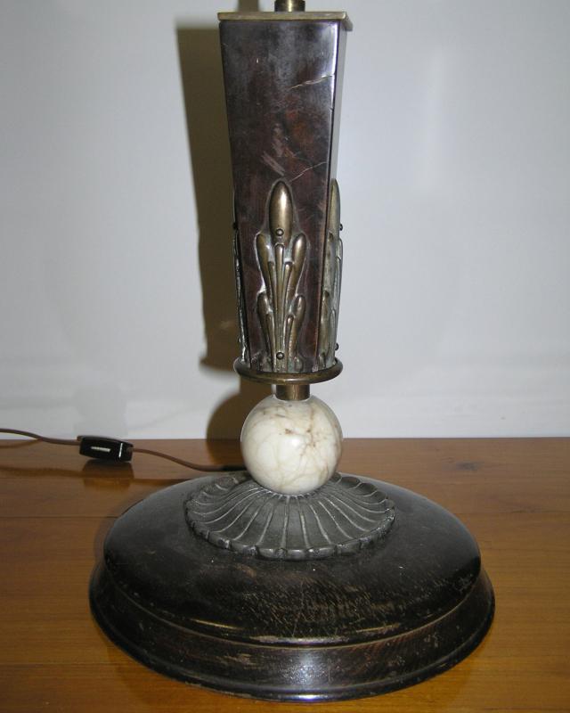 Hungarian Art Deco Modernist Table Lamp