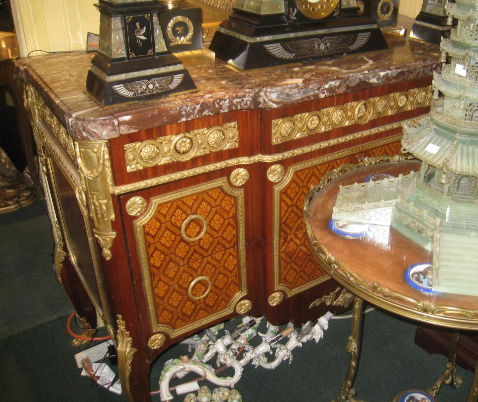 Louis XV/XVI Style Commode After Roger Vandercruse Lacroix (1728–1799)