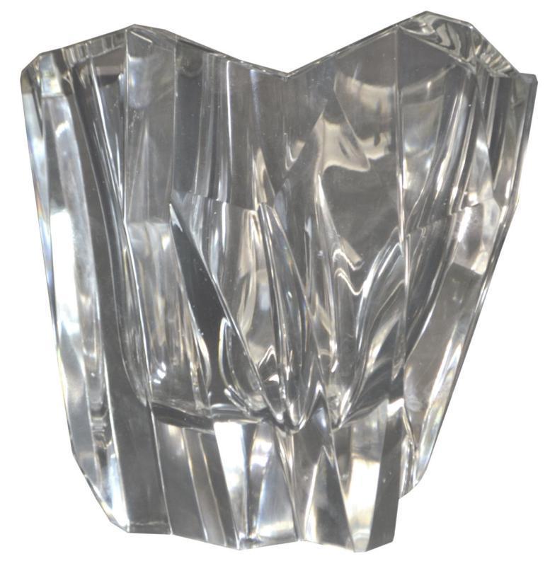 Tapio Wirkkala (1915-1985) Crystal Vase Iceberg from 1950