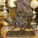 Jean-Baptiste Belloc (1863-1919) Orientalist Bronze Sculpture