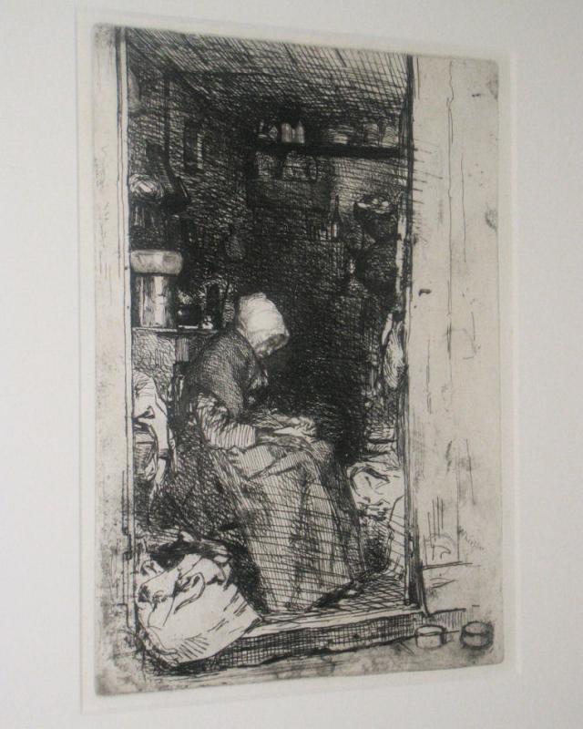 James Abbott McNeill Whistler (1834-1901) Framed Etching