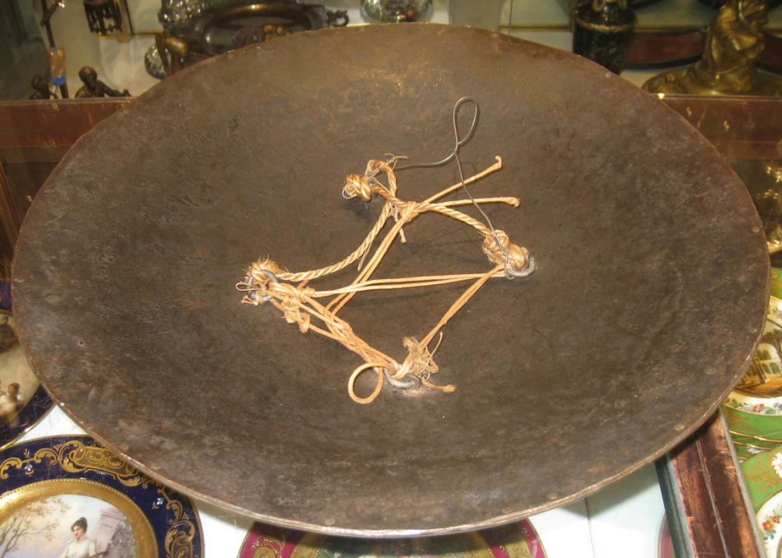 Persian Sipar Dhal Shield from Estate of Rudolph Valentino