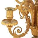 Louis XVI Style Gilt Bronze and Marble Candelabra