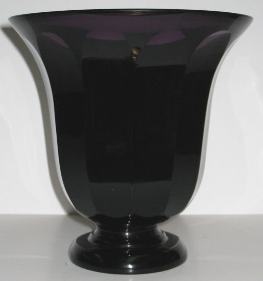 Josef Hoffmann (Attr.) Secessionist Glass Vase from Moser