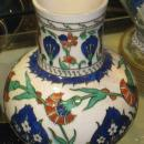 Theodore Deck Iznik Style Pottery Jug Pitcher