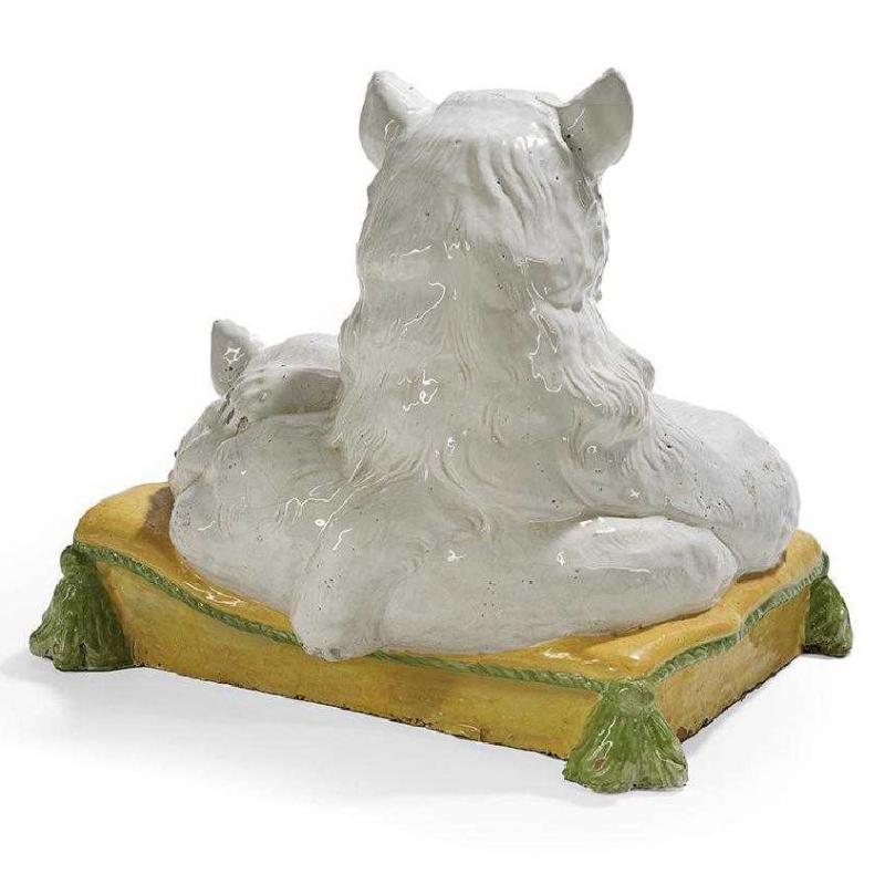 Italian Tin Glazed Terracotta Cats
