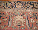 Antique 11x14 Ft Flatweave Persian Serapi Carpet