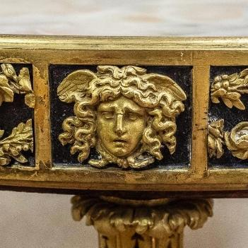 Antique Gilt Bronze Louis XVI