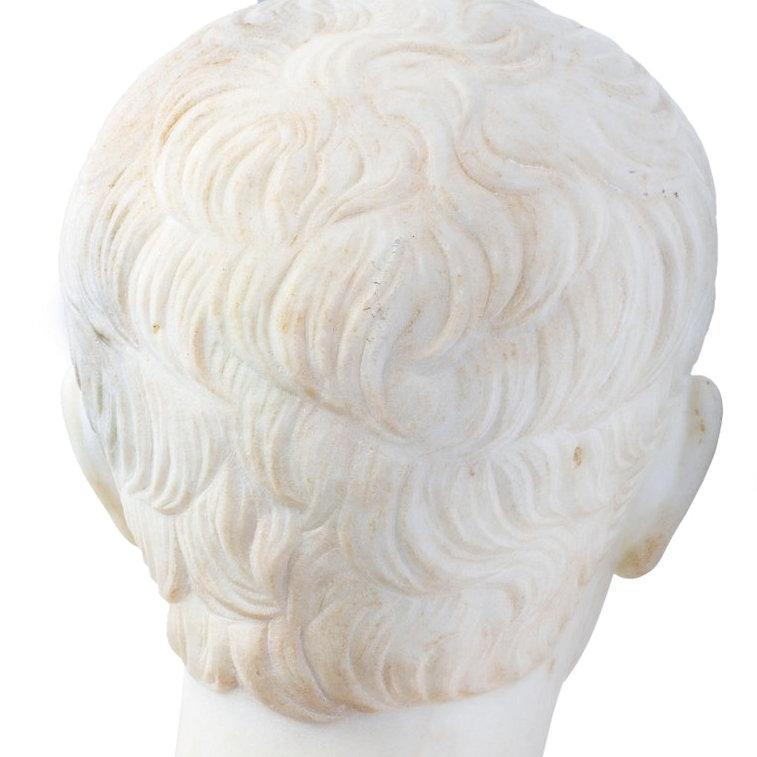 Ceasar Augustus Marble Bust After Antonio Canova