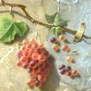 Antique Trompe L'Oeil Still Life Oil Painting by Emma Seligman