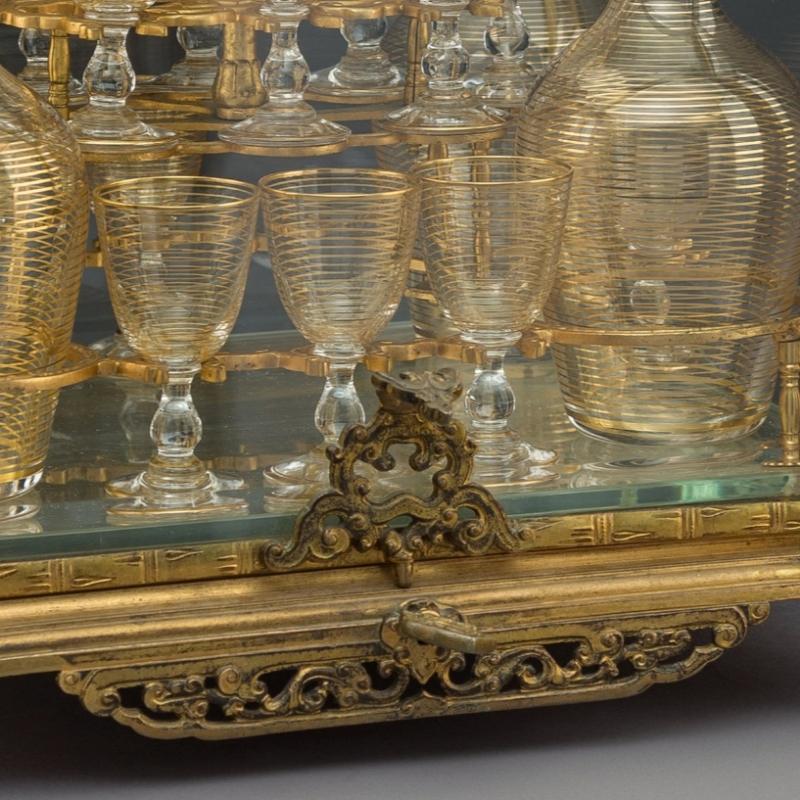 Antique French Gilt Bronze Tantalus
