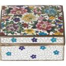 Inaba Japanese Cloisonne Trinket or Jewelry Box
