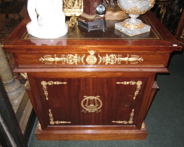 Antique Neo-Egyptian French Empire Revival Desk