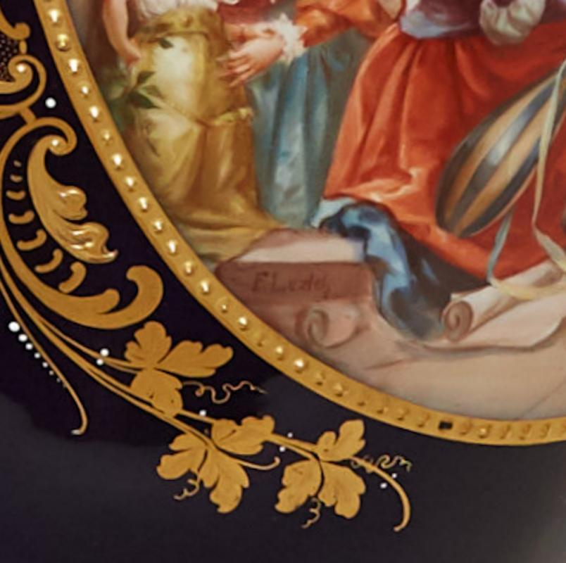 Shakespearean Royal Vienna Porcelain Vase