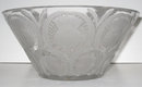 Lalique Mid-Century Chardons Thistle Glass Bowl