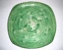 Schneider Green Glass Centerpiece