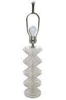 Vintage Mid-Century Acrylic Table Lamp