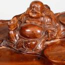 Chinese Gungfu ( Kung Fu ) Carved Tree Root Ceremonial Tea Table