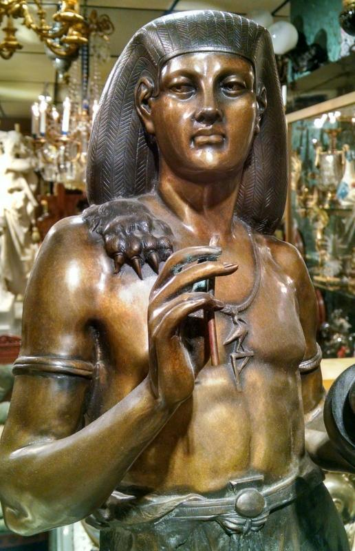 Egyptian Figurative Sculptures After Emile Louis Picault (1833-1915)