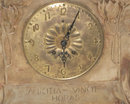 Goldscheider Art Nouveau Terracotta Mantel Clock