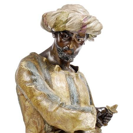 Friedrich Goldscheider Orientalist Terracotta Figure of an Arab Dignitary