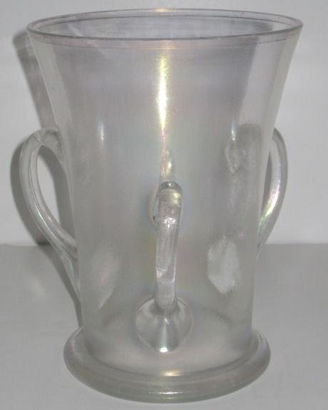 Verre de Soie Iridescent Loving Cup Glass Vase