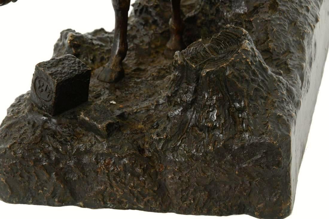 Horse Bronze Sculpture Possibly Russian School