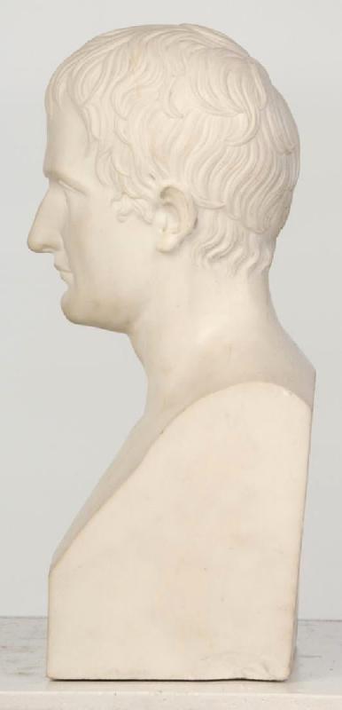 Napoleon Marble Bust After Antoine-Denis Chaudet