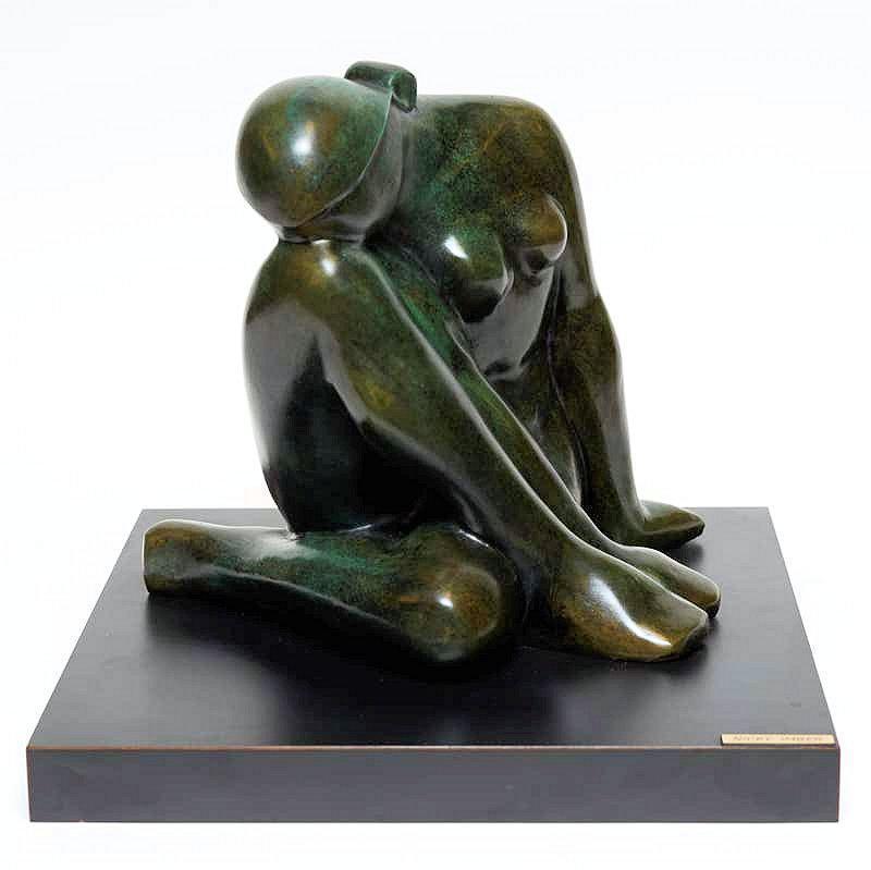 Nicky Imber Nude Female Bronze Sculpture