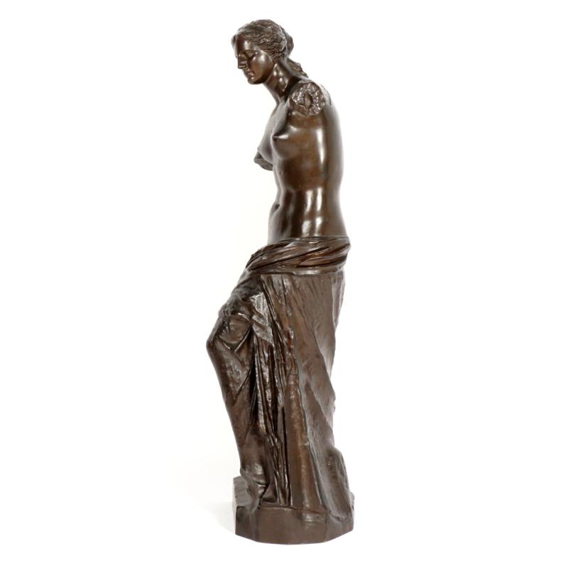 Venus de Milo Bronze Sculpture Cast by Barbedienne