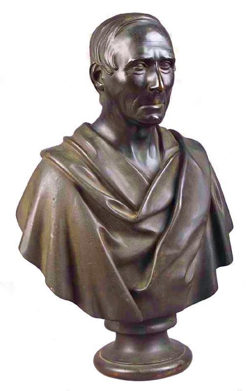 Bronze Bust of Niccolo da Uzzano (1359-1431) of Florence