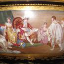 Napoleonic Sevres Style Ormolu Bronze Mounted Porcelain Garniture