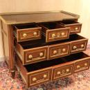 Pair Louis XVI Russian Style Commodes Chests of Drawers