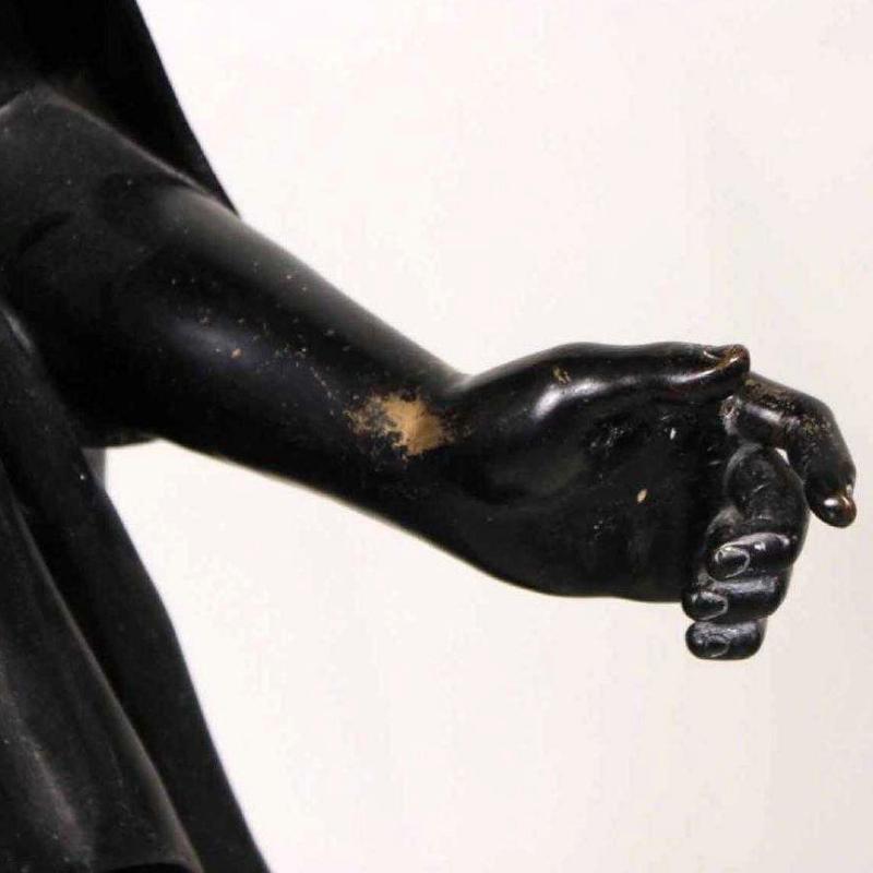 Peplophoroi Bronze Figure from Chiurazzi Foundry of Naples