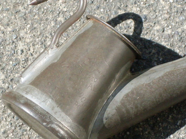 GIFT _Antique COAL MINER'S HAT Lantern Primitive U.S.A. maker RARE FIND in Excellent Condition _fueled by Whale Oil_from Coal Miner's Cabin _Metalware Lighting Devices