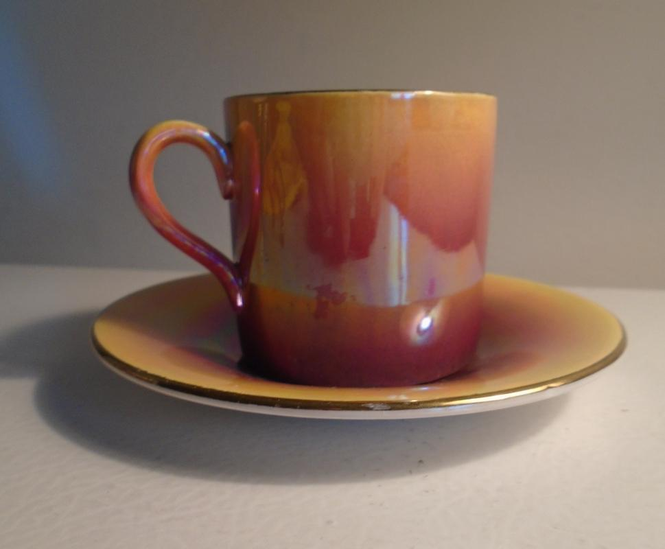 1930s ROYAL WINTON small Demitasse Cup and Saucer for age Excellent Condition