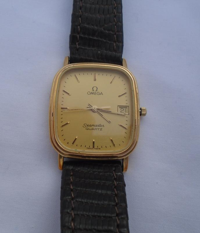 OMEGA Seamaster Gents Quartz wristwatch -1430- 1980's TESTED Working excellent